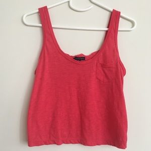 American eagle hot pink tank top